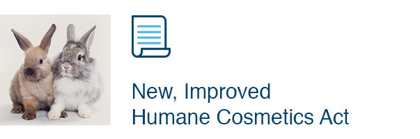 New, Improved Humane Cosmetics Act