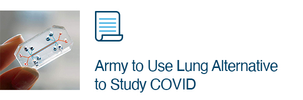Army to Use Lung Alternative to Study COVID